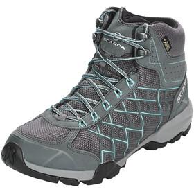 Scarpa W's Hydrogen Hike GTX Shoes iron gray-lagoon
